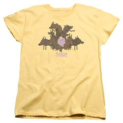 Adventure Time - Womens Lsp & Wolves T-Shirt
