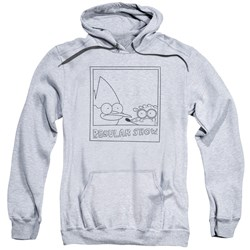 Regular Show - Mens Poloroid Pullover Hoodie