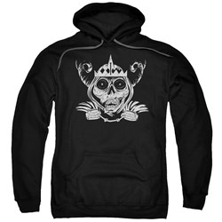 Adventure Time - Mens Skull Face Pullover Hoodie