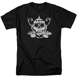 Adventure Time - Mens Skull Face T-Shirt