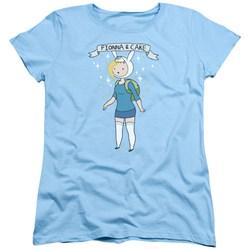 Adventure Time - Womens Fionna & Cake T-Shirt