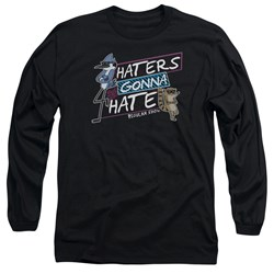 Regular Show - Mens Haters Gonna Hate Long Sleeve T-Shirt