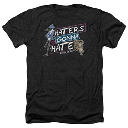 Regular Show - Mens Haters Gonna Hate Heather T-Shirt