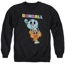 Amazing World Of Gumball - Mens Gumball Spray Sweater