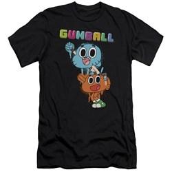 Amazing World Of Gumball - Mens Gumball Spray Premium Slim Fit T-Shirt