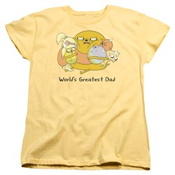 Adventure Time - Womens Worlds Greatest Dad T-Shirt