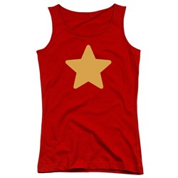 Steven Universe - Juniors Star Tank Top