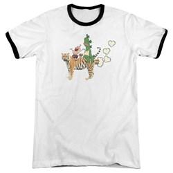 Uncle Grandpa - Mens Fart Hearts Ringer T-Shirt