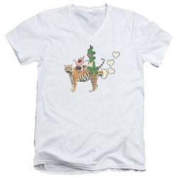 Uncle Grandpa - Mens Fart Hearts V-Neck T-Shirt
