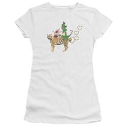 Uncle Grandpa - Juniors Fart Hearts Premium Bella T-Shirt
