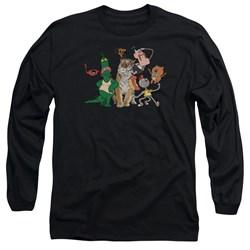 Uncle Grandpa - Mens Group Long Sleeve T-Shirt