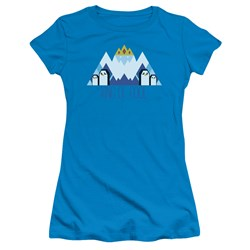 Adventure Time - Juniors Ice King Geo T-Shirt