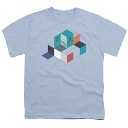 Adventure Time - Youth Bmo Blocks T-Shirt