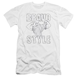 Johnny Bravo - Mens Bravo Style Premium Slim Fit T-Shirt