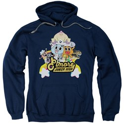 Amazing World Of Gumball - Mens Elmore Junior High Pullover Hoodie