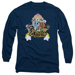 Amazing World Of Gumball - Mens Elmore Junior High Long Sleeve T-Shirt