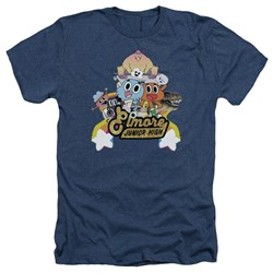 Amazing World Of Gumball - Mens Elmore Junior High Heather T-Shirt