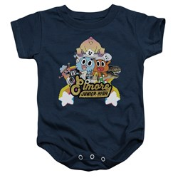 Amazing World Of Gumball - Toddler Elmore Junior High Onesie