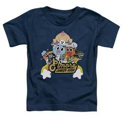 Amazing World Of Gumball - Toddlers Elmore Junior High T-Shirt