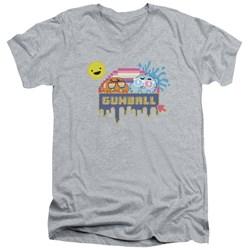 Amazing World Of Gumball - Mens Sunshine V-Neck T-Shirt
