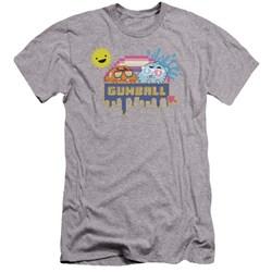 Amazing World Of Gumball - Mens Sunshine Premium Slim Fit T-Shirt