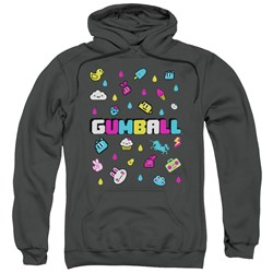 Amazing World Of Gumball - Mens Fun Drops Pullover Hoodie