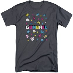 Amazing World Of Gumball - Mens Fun Drops Tall T-Shirt
