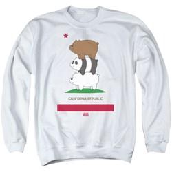 We Bare Bears - Mens Cali Stack Sweater