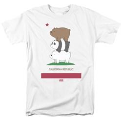 We Bare Bears - Mens Cali Stack T-Shirt