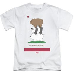 We Bare Bears - Youth Cali Stack T-Shirt