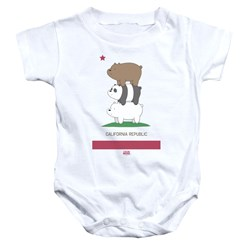 We Bare Bears - Toddler Cali Stack Onesie