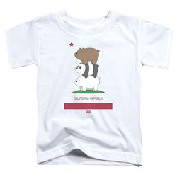 We Bare Bears - Toddlers Cali Stack T-Shirt