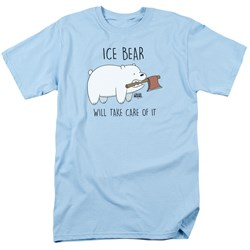 We Bare Bears - Mens Take Care Of It T-Shirt