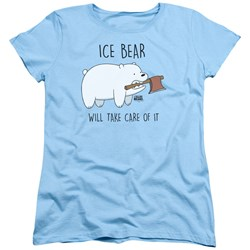 We Bare Bears - Womens Take Care Of It T-Shirt