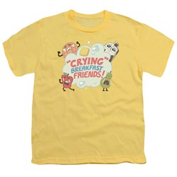 Steven Universe - Youth Crying Breakfast Friends T-Shirt