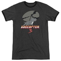 Steven Universe - Mens Dogcopter 3 Ringer T-Shirt