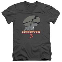 Steven Universe - Mens Dogcopter 3 V-Neck T-Shirt
