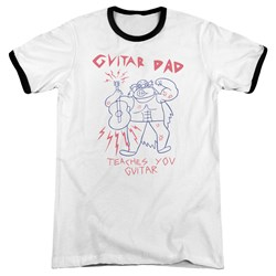 Steven Universe - Mens Guitar Dad Ringer T-Shirt