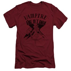 Adventure Time - Mens Vampire Hunter Slim Fit T-Shirt