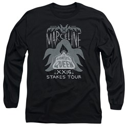Adventure Time - Mens Marceline Concert Long Sleeve T-Shirt