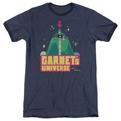 Steven Universe - Mens Garnets Universe Ringer T-Shirt