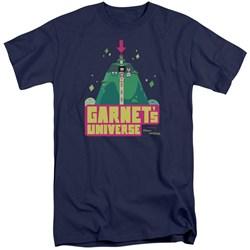 Steven Universe - Mens Garnets Universe Tall T-Shirt