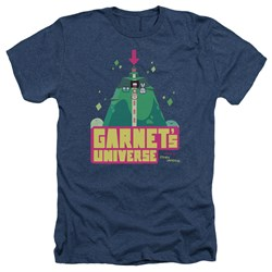 Steven Universe - Mens Garnets Universe Heather T-Shirt