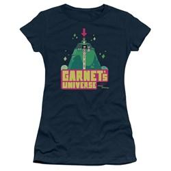 Steven Universe - Juniors Garnets Universe T-Shirt