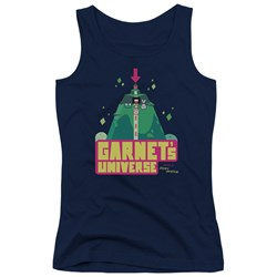 Steven Universe - Juniors Garnets Universe Tank Top