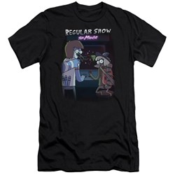 Regular Show - Mens Rs The Movie Premium Slim Fit T-Shirt
