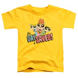 Powerpuff Girls - Toddlers The Day Is Saved T-Shirt