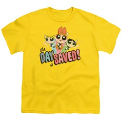 Powerpuff Girls - Youth The Day Is Saved T-Shirt