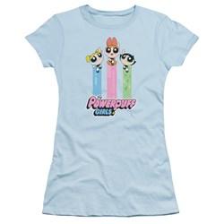 Powerpuff Girls - Juniors The Girls Fly T-Shirt
