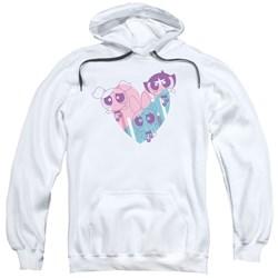 Powerpuff Girls - Mens Powerpuff Heart Pullover Hoodie